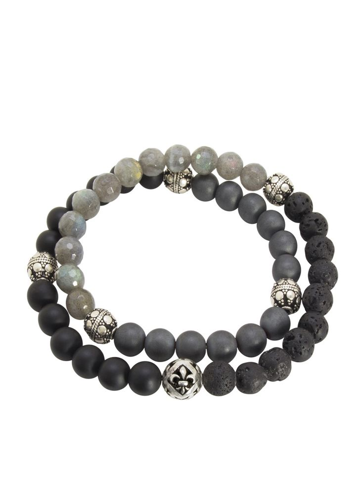 Nialaya - Men's Wrap-Around Bracelet - €329