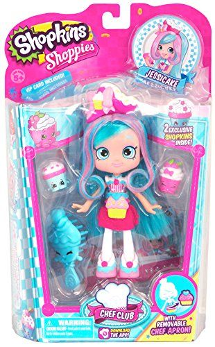Come join the Chef Club and chill with a good book! Peppa-Mint's cookbook is choc full of cool recipes! Grab your apron and start whipping up some icy treats that taste so sweet with her Shopkins Be...