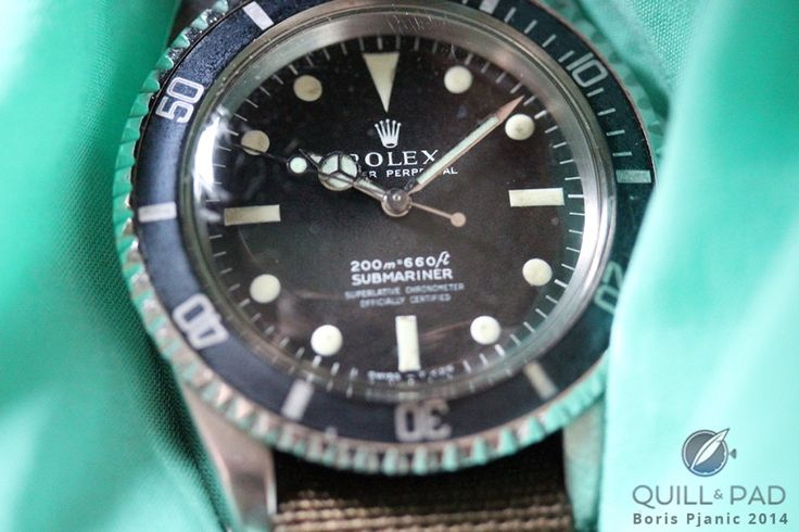 Afterglow: A 1967 Rolex Submariner Reference 5512 With Tritium/Zinc Sulfide Markers