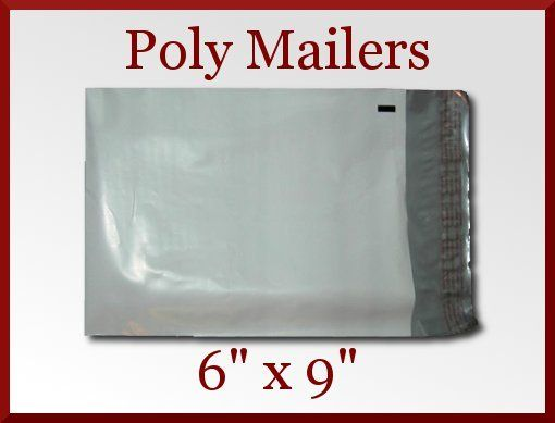 Pack of 50 White Poly Mailers on Sale at CDVDMart