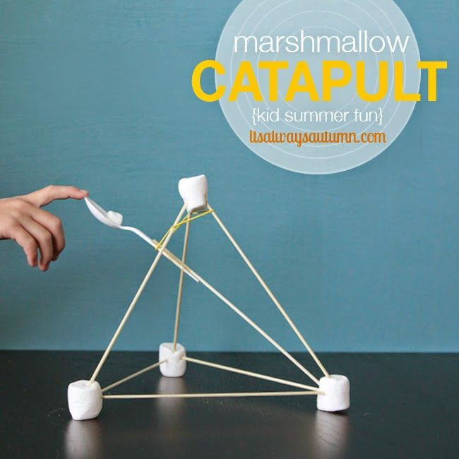 Make Your Own Marshmallow Catapult