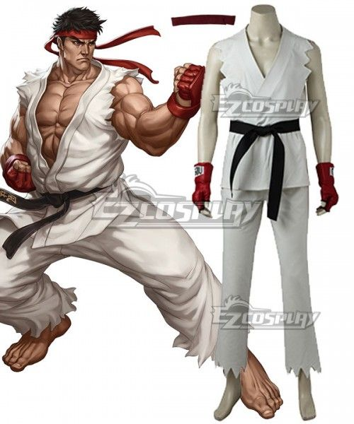 b8f26782d40c Street Fighter V Ryu Cosplay Costume  Fighter