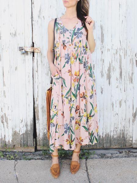 61f997745639 Floral Button Down Jumpsuit. Blush Floral Button Down Jumpsuit. Oversized Floral  Button Down Jumpsuit. Trendy spring jumpsuit. Spring florals.