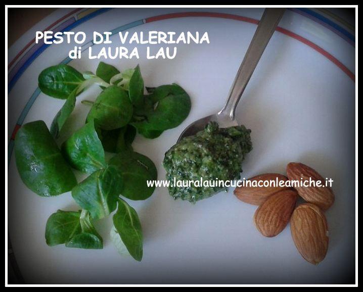 Laura Lau in cucina con le amiche: PESTO DI VALERIANA (VALERIANELLA) BIMBY E NON di LAURA LAU