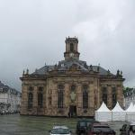 Beautiful Church in Saarbrucken, West Germany, Great place to shop even though Polizie towed my car. LOL