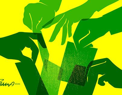 "Check out new work on my @Behance portfolio: ""Brazil example of democracy""…"