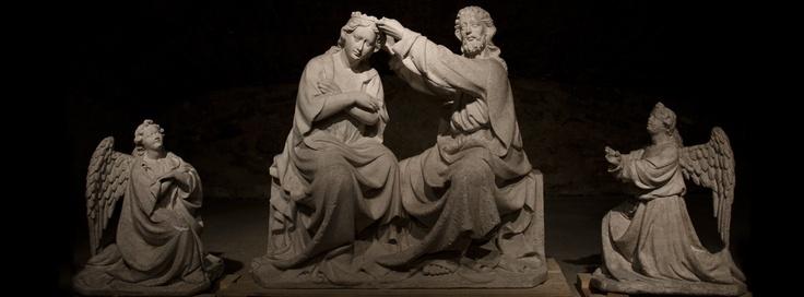 Incoronazione della Vergine, Nicola da Guardiagrele - Museo del Duomo di Guardiagrele (CH)