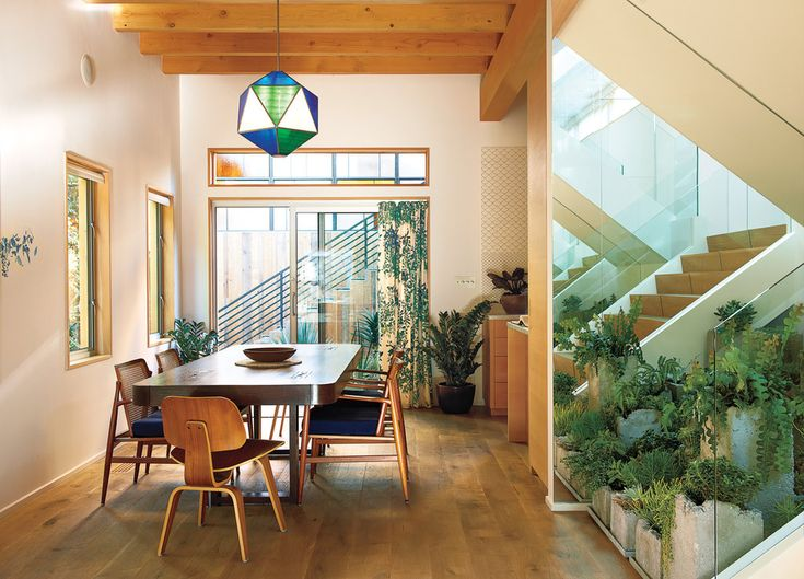 Doug Aitken, Dining Area, Dining Room, Dreams Home, Chairs, Interiors, Indoor Succulents, Succulent Gardens, House
