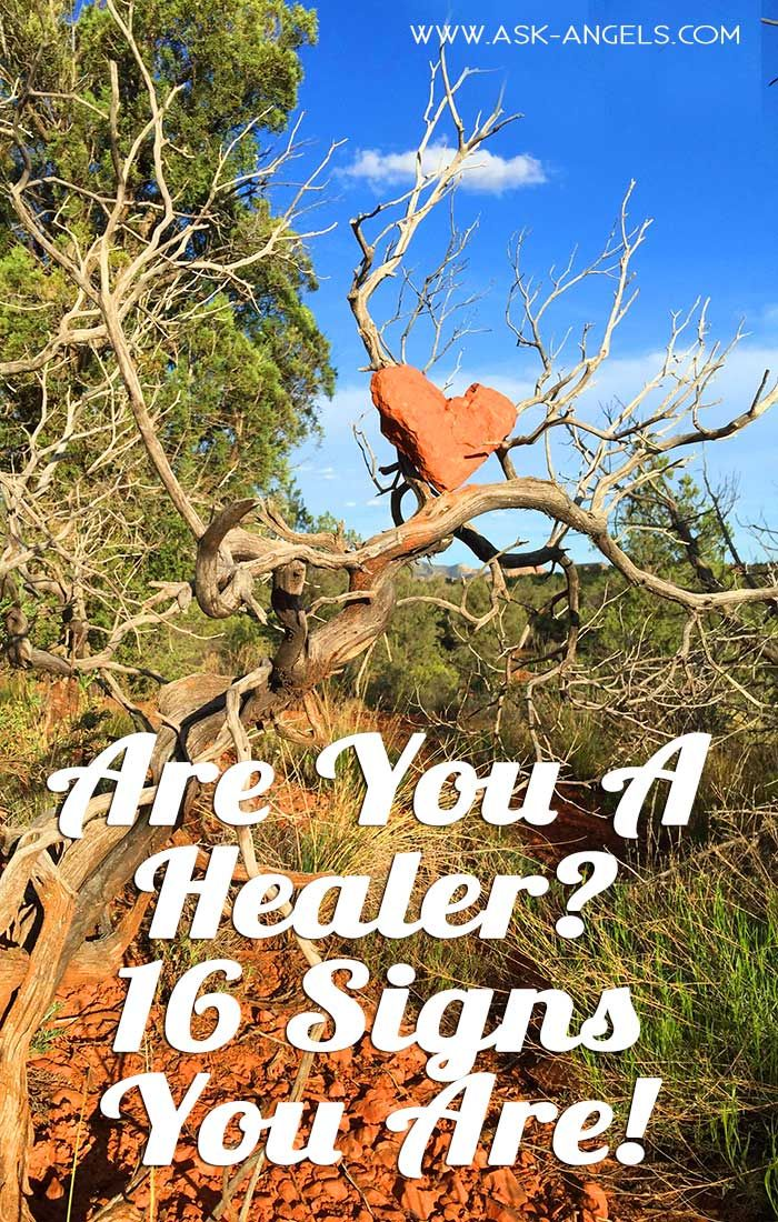 I've put together a list of 16 signs that you're a healer. Take a look here to learn more. >> #energyhealing #healing #askangels