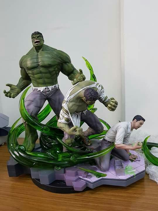 Transformación de Hulk Tiger Custom Studio
