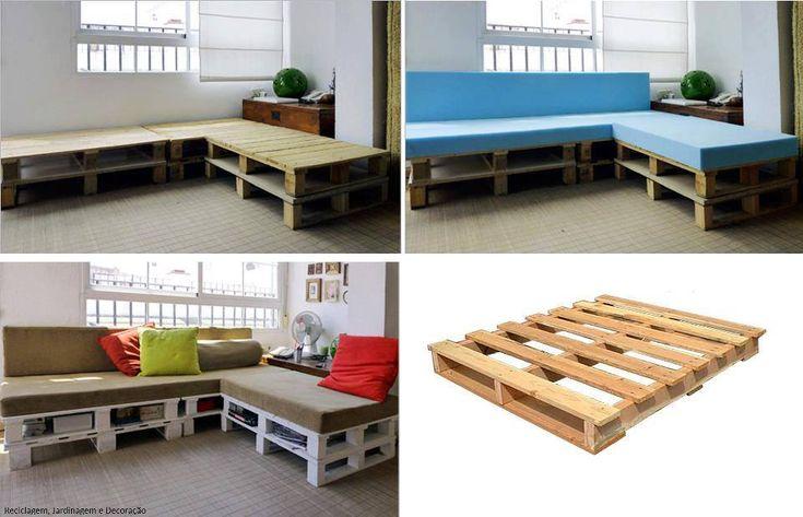 1000 images about paleta de madera on pinterest for Paletas madera