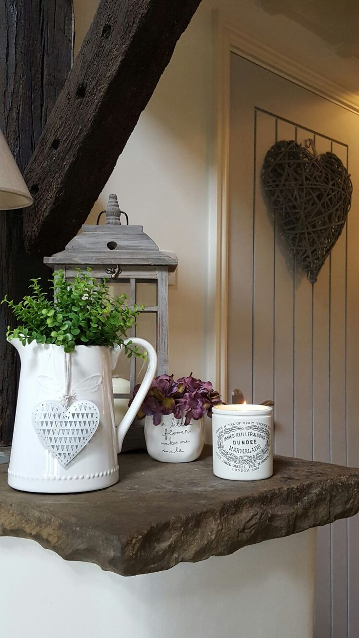 Stone ledge in our converted barn...makes its own feature