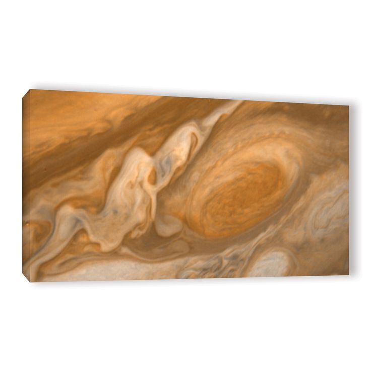 ArtWall Astronomy NASA's Jupiter's Great Spot, Gallery Wrapped Canvas