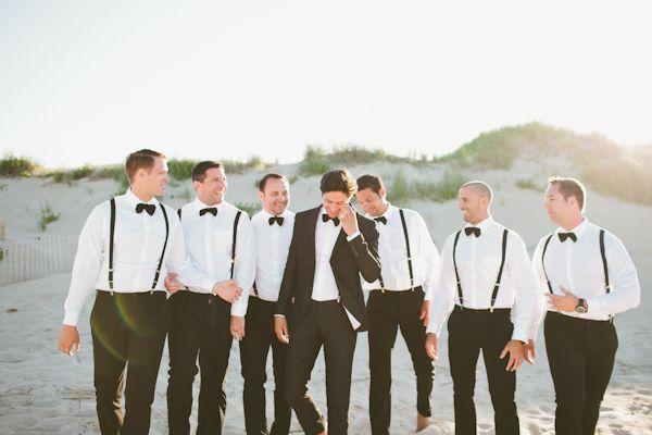 black tie beach wedding | Kaytee Lauren #wedding