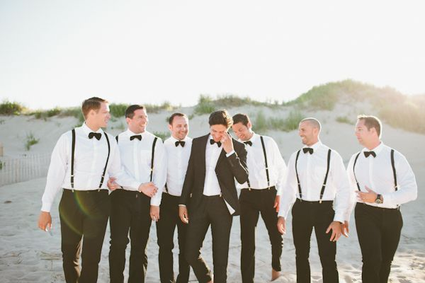 black tie beach wedding | Kaytee Lauren #wedding