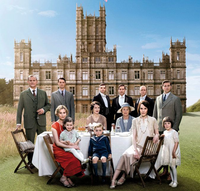 'Downton Abbey' Finale: A Grand British Story With an American Finish  You knew it would end this way, right?