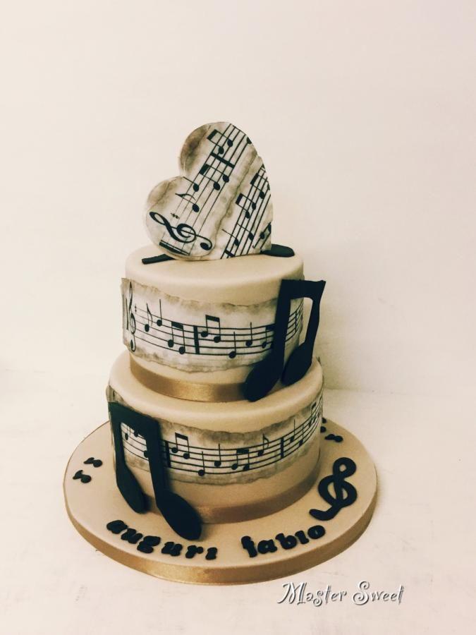 Music Cake  by Donatella Bussacchetti