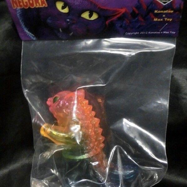 NEGORA Rainbow 2 Konatsu × Max Toy cat sofubi sofvi figure Japan ltd byron F/S #KonatsuMaxToy