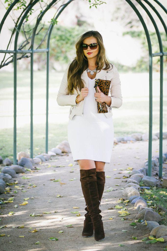 d6cd0cccfcf  BumpStyle    Little White Dress   Boots
