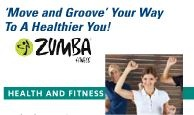 Zumba Gold starts Feb. 6, 2013. Have a fun time by using modified dance steps dancing to a Latin beat!