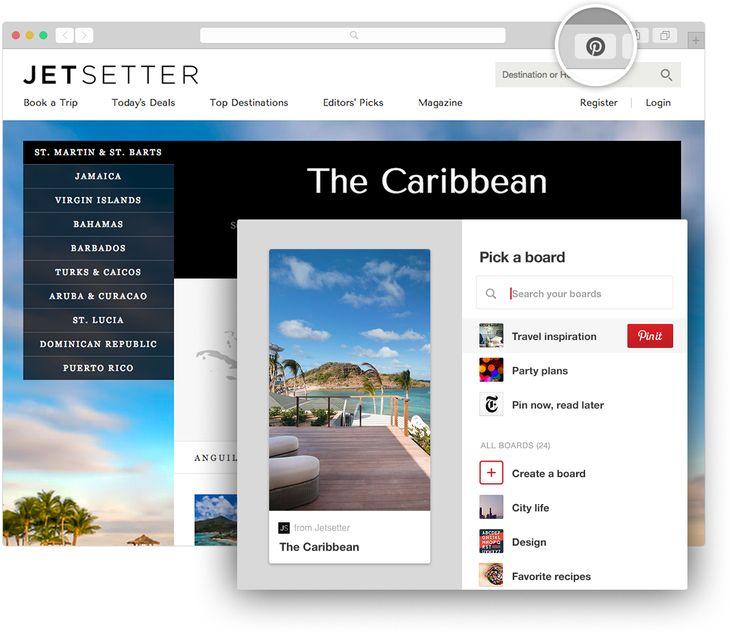 Nettleserknapp | Hva er Pinterest?
