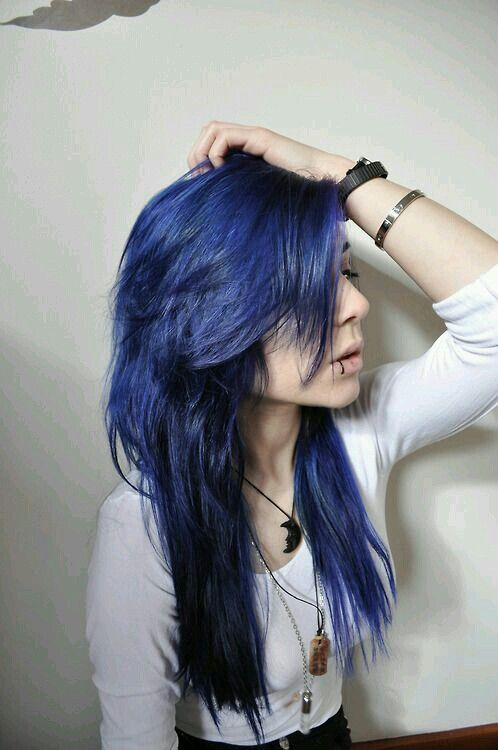 120 Best Azul Images On Pinterest Colourful Hair Blues And Blue Hair