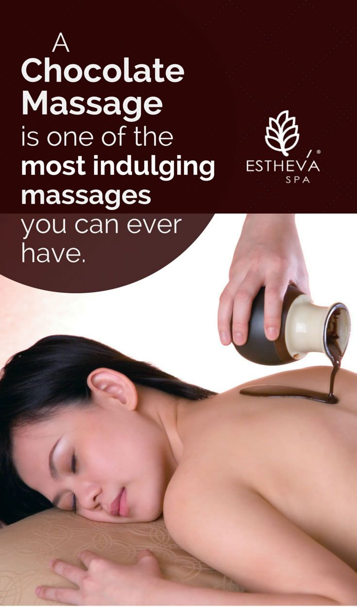 Chocolate Spa Singapore: A chocolate massage is one of the most romantic and indulging massages you can ever have. Book one now at ESTHEVA Spa, one of the top luxury day spas in Singapore. estheva.com #massagesingapore #couplespasingapore #couplemassage