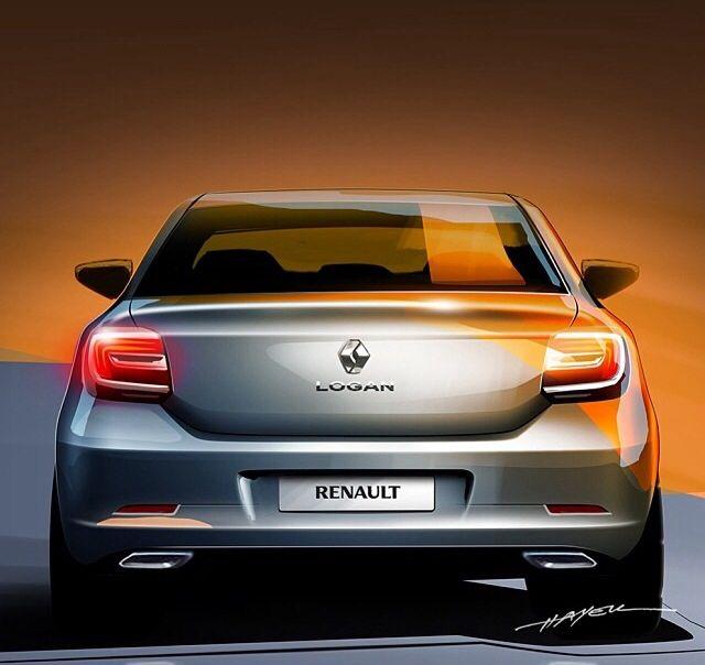 Renault Logan by Yuri Hayek