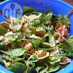 Griekse tortellini salade @ allrecipes.nl