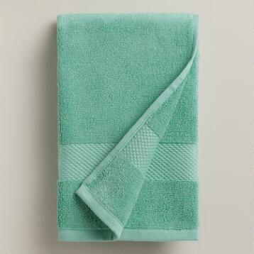 Sea Blue Hand Towel