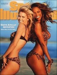 Tyra Banks was the first African American woman on the cover of Sports Illustrated