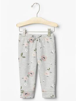 Floral fleece pants | Gap