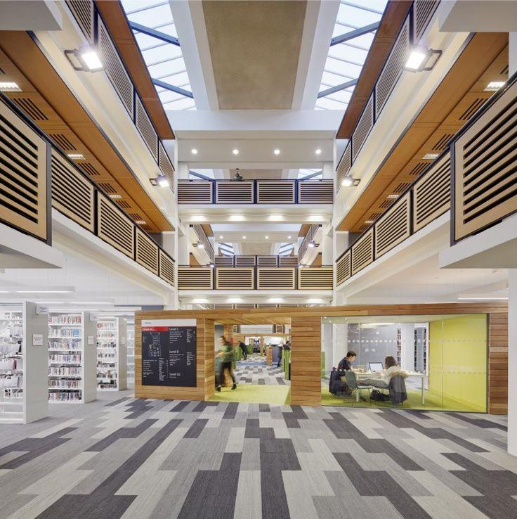 Lancaster University, Library Refurbishment