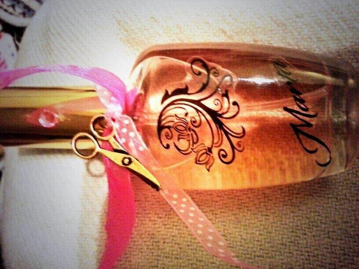 Marta también ha querido visitarnos para diseñarse su perfume personalizado. Apto para todos los bolsillos #chic #tendencia #shopping #blogger #perfume
