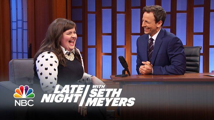 She's delightful! Definitely find a way to watch the whole thing if you can. > Aidy Bryant on Working with Seth - Late Night with Seth Meyers