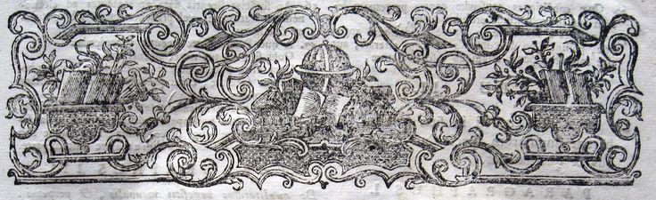 """Frammenti #67 - Fregi, marche tipografiche, incisioni, capilettera, testatine, ex libris, particolari di opere rare ed antiche. #libriantichi #antiquebooks #incisioni #engravings. Studio bibliografico """"Amor di Libro"""" - Pistoia. Libri rari e antichi. Incisioni e curiosità cartacee d'epoca. Largo San Biagio 165, 51100 Pistoia Tel. e fax: 0573-26758 e-mail: mila.sermi@yahoo.it eBay: stores.ebay.it/... website: www.amordilibro.com"""