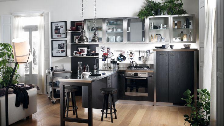 Итальянская компания Scavolini представляет: кухня Diesel Social Kitchen для Вас