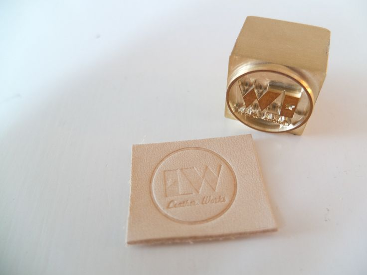 Custom Leather Stamp for Hammer Stamping / Embossing / Branding Leather