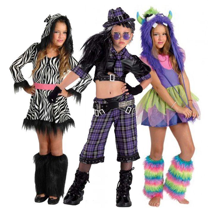 αποκριάτικες στολές για κορίτσια - στολές Trendy και Groovy