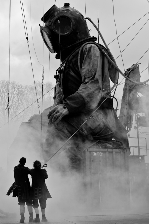 Giants in Liverpool...