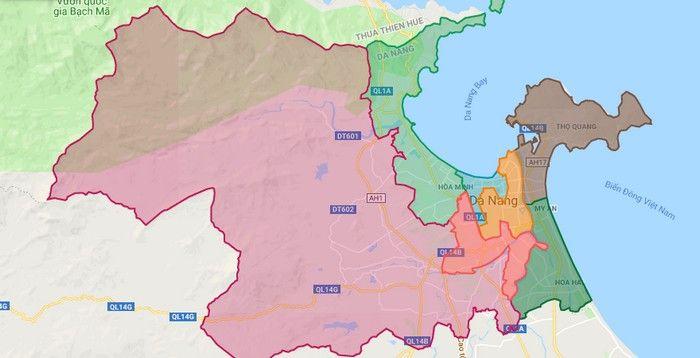Bản đồ đa Nẵng Bản đồ Thanh Phố Việt Nam