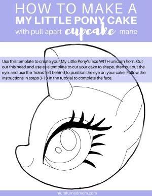 Best 25 Pony Cake Ideas On Pinterest My Little Pony