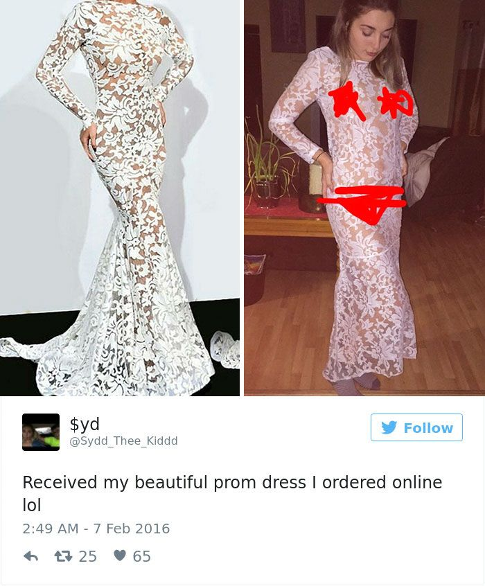 Teens Are Sharing The Prom Dresses They Regrettably Purchased Online ...