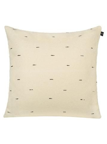 "Pillow Studio RUF Black Pearl: Size: 20"" x 20"" or 50 cm x 50 cm VELVETY SOFT COTTON AND BEADS PILLOW Handmade in Morocco: pillows, throws and bedspreads"
