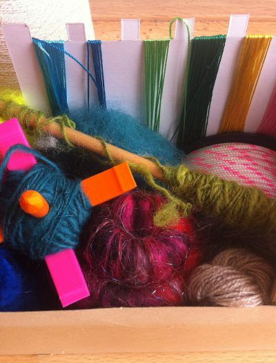 Froukje Postmus – Spintol spinnen met onverwachte materialen