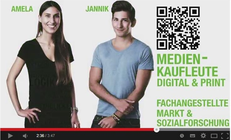 Interaktive Bewerberjagd bei Gruner + Jahr: Videoscribe, Filmception, Video-in-Video…