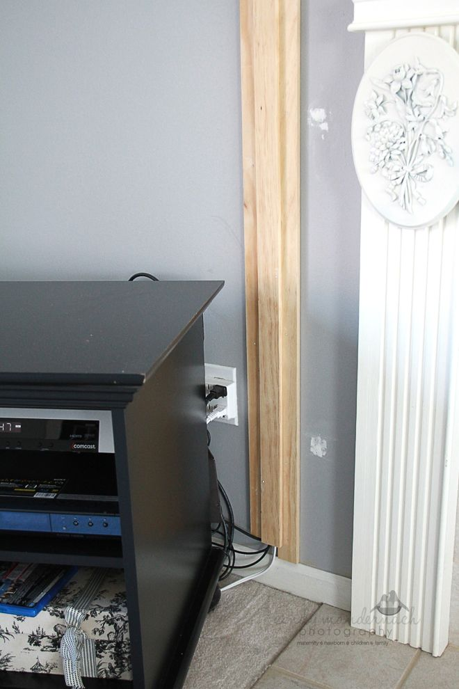 Cameras and Chaos: the tv wall mount is done...