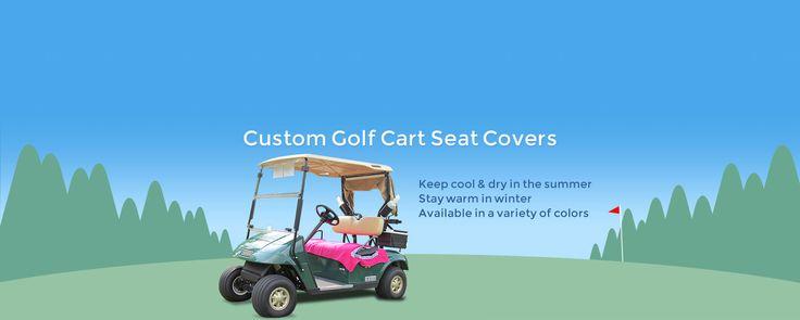 Custom Golf Cart Seat Covers