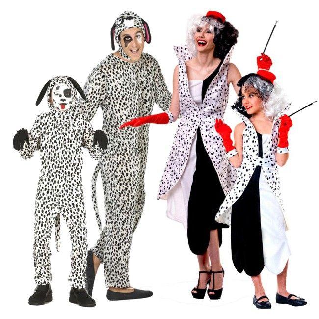 Achetez déguisements 101 Dalmatiens #familledéguisement #déguisementsgroupes #nouveauté2017