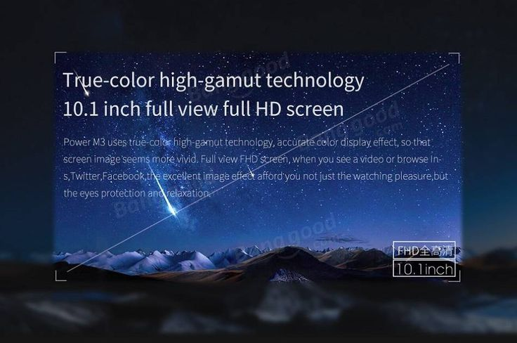 ALLDOCUBE Cube Power M3 32GB MTK MT6753 Octa Core 10.1 Inch Android 7.0 Dual 4G Phablet Tablet
